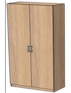 Шкаф двухдверный узкий 900х420х2000мм (ШхГхВ)