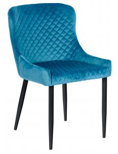 Кресло Ститч, вельвет темно-бирюзовый