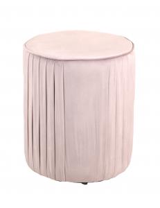 ПуфМирамалый,вельвет,пыльно-розовый