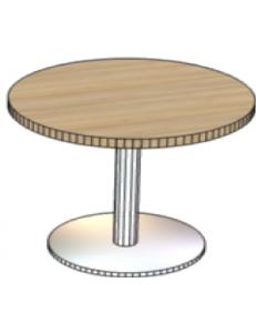 Стол журнальный круглый D=600мм, Н= 750мм