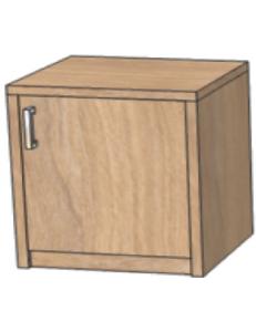Тумба под минибар 530х520х650мм (ШхГхВ) / возможность установки защитного поддона от протекания конденсата холодильника