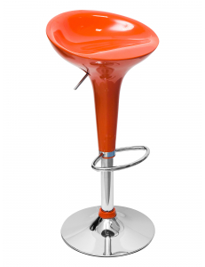 Стул барный Бомба оранжевый
