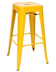 Стул барный TOLIX желтый глянцевый