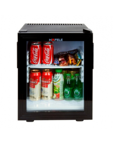 Минибар HAFELE 28 литров со стеклянной дверцей , 220 В, черный
