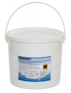 SENSOX-Кислородный отбеливатель - порошок для стирки белого текстиля и удаления трудновыводимых загрязнений 12кг