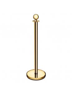 Стойка для ограждения, цвет «золото», высота 100 см