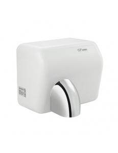 Сушилка для рук, скоростная, с поворотным соплом, пластик АБС, белая 2300W, код: 6867