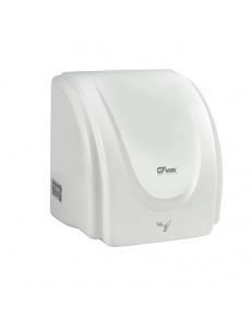 Сушилка для рук, скоростная, пластик АБС, белая 2300W, код: 6868