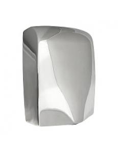 Сушилка для  рук, скоростная , антивандальная, корпус из нержавеющей стали, хромированная 1000W  (6951)