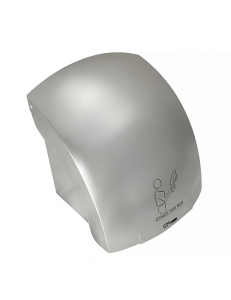 Сушилка для рук, корпус пластик АБС цвет сатин хром, 1800W, код: 6960
