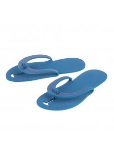 Тапочки пантолеты одноразовые ЭВА 3мм цвет в ассортименте