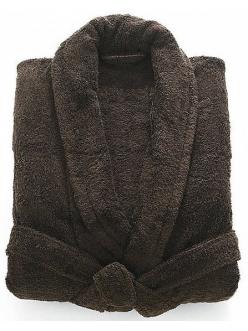 Халат махровый темно-коричневый Туркмения плотность 380гр