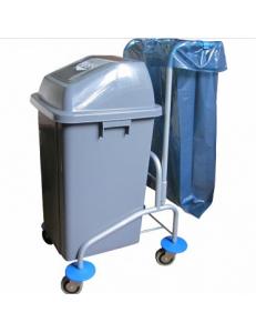 Тележка для сбора пищевых отходов и мусора VD 0497