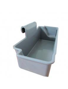 Пластиковая корзинка для уборочных тележек