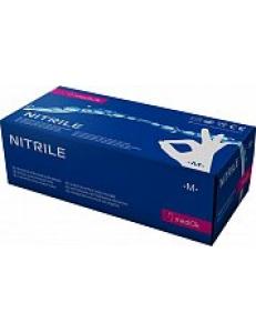 Перчатки нитриловые MediOk, цвет голубой 1уп/50пар