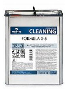 Formula X-5 (Формула икс-5) 3л, универсальное чистящее средство на основе растворителей