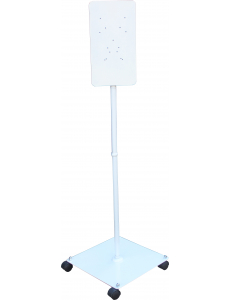 Мобильная стойка на колесах для дозатора SD-2 белая