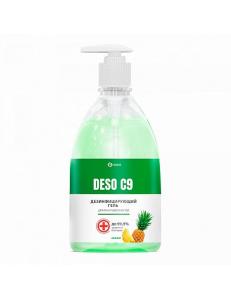 DESO (C9) гель 0.5л. Дезинфицирующее средство для рук на основе изопропилового спирта