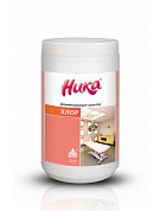 Ника-Хлор, средство дезинфицирующее- таблетки хлорные №300 в банке