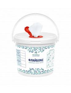 Флайбокс диспенсер для дезинфицирующих салфеток с салфетками в сборе 200 шт
