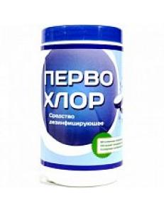 Первохлор, таблетки хлорные №300 в банке, 6шт/уп