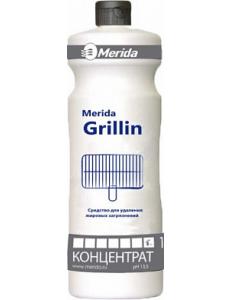 MERIDA GRILLIN средство для очисти печей, грилей и пароконвектоматов от нагара - концентрат (1л.)