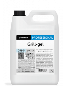Grill-gel 5л Гель эконом-класса для чистки грилей