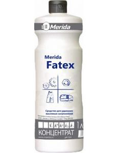 MERIDA FATEX для удаления жировых загрязнений - концентрат (1л.) (Мерида Фатекс)1л.