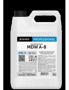 MDW A-8 5л. Концентрат для машинной мойки посуды и тары в жесткой воде и воде средней жесткости