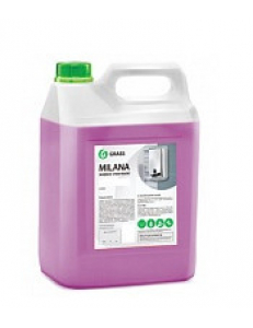 Жидкое крем-мыло MILANA 5л(жемчужное, алое вера, молоко и мед, черника в йогурте)