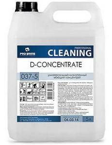D-concentrat (Д-концентрат) 5л, универсальный низкопенный моющий концентрат