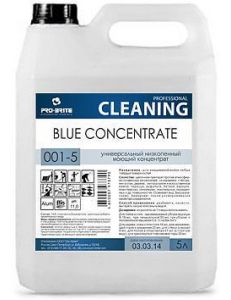 BLUE CONCENTRATE (Блю концентрат), 5л универсальный моющий низкопенный концентрат