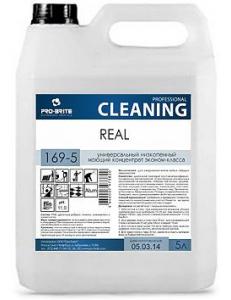REAL (РЕАЛ) 5л, универсальный низкопенный моющий концентрат эконом - класса