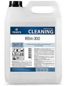Rem-300 (Рем-300) 5л, против мазута, битума, масложировых и атмосферно-почвенных загрязнений.