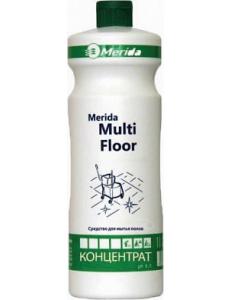 MULTI FLOOR универсальное средство для мытья водостойких поверхностей - концентрат (1л.)