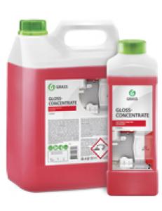 Gloss Concentrate 5л, концентрированное чистящее средство для ванной комнаты (канистра 5,5кг)