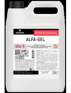 Alfa-Gel (Альфа-Гель) 5 л, ср-во против известковых отложений и ржавчины, с бактерицидными свойств