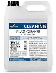 Glass Cleaner Concentrate (Гласс Клинер Концентрат) 5л, Моющий концентрат с нашатырным спиртом для мытья стекол и зеркал.