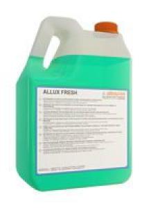 ALLUX FRESH 5л Аллюкс Фреш  Быстросохнущее моющее средство  для глянцевых, блестящих покрытий: кафель, мрамор, гранит, ламинат. Не оставляет разводов.