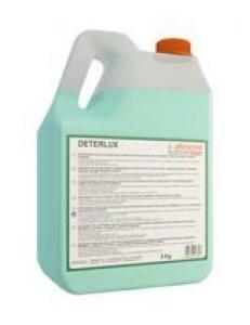 DETERLUX 5л  Детерлюкс Моющее средство для ежедневной уборки и  для придания дополнительного блеска полам из освинцованного мрамора, полам, покрытым полимерными лаками, паркету.