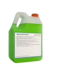 GRES WHITENER 5л Грес Вайтнер Моющее средство с отбеливающим эффектом с контролируемым пенообразованием и с превосходными обезжиривающими характеристиками, предназначено специально для мытья полов,
