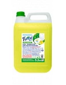 """FOREST clean  Гель для чистки унитаза """"Лимон"""" концентрат 5,2 кг Канистра"""