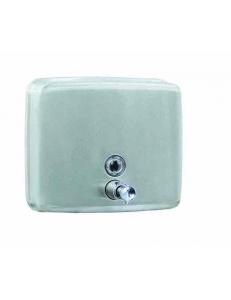 Диспенсер для мыла из  Стали Белый 1400 мл. Квадратный