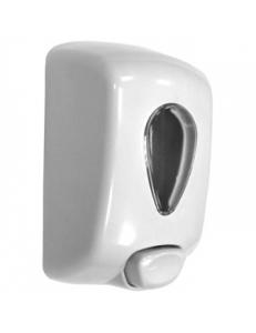 Диспенсер для мыла Classic пластиковый белый 1000 мл.