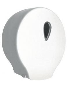 Диспенсер для туалетной бумаги пластмассовый белый