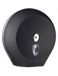 Диспенсер для туалетной бумаги пластмассовый Black большой