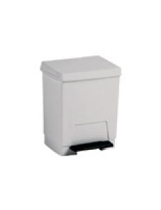 Контейнер для мусора пластиковый белый 8 л.