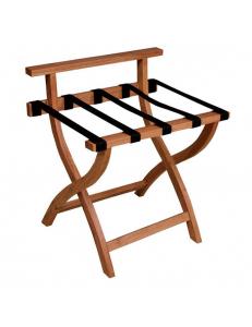 Подставка для багажа деревянная со спинкой PRF-7248