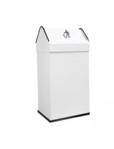 Контейнер для мусора белый 41 литр
