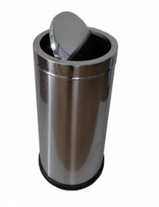 Урна  для мусора крышка-качели 35л, h - 630мм  арт 11230